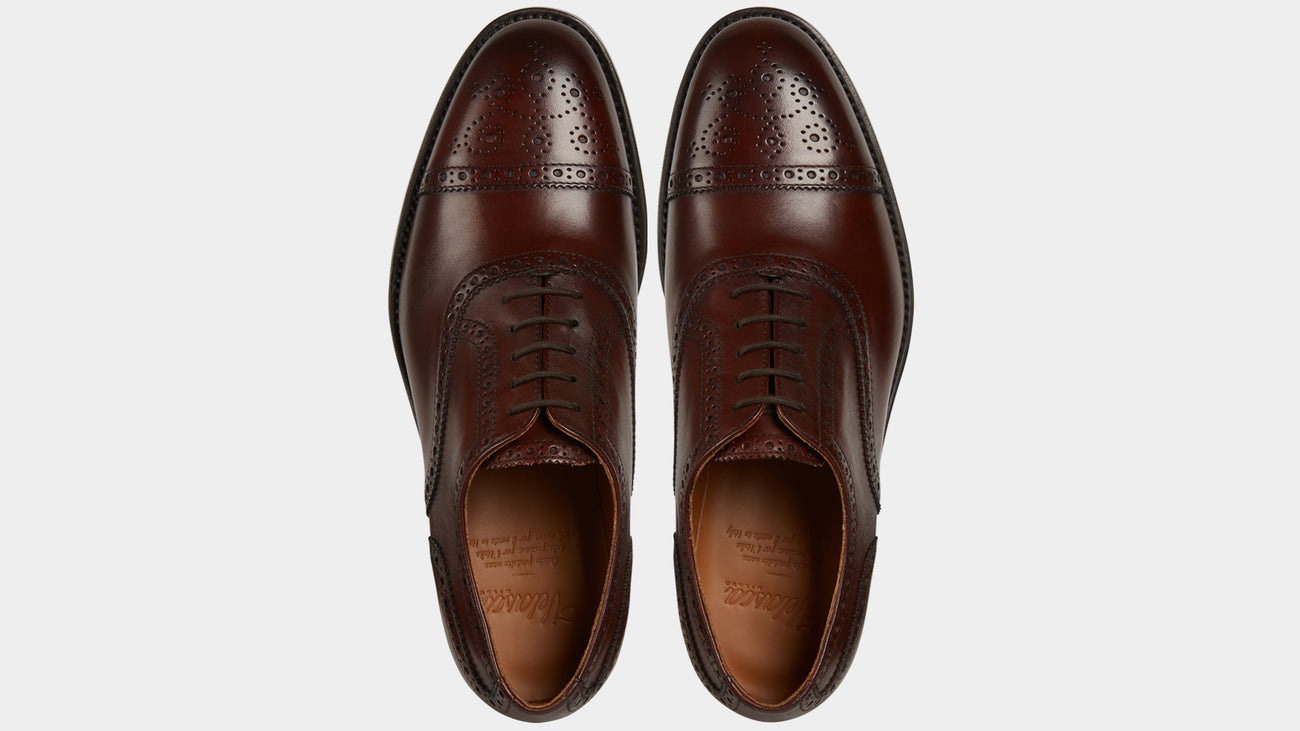 Velasca Cavadent Brown Full grain leather