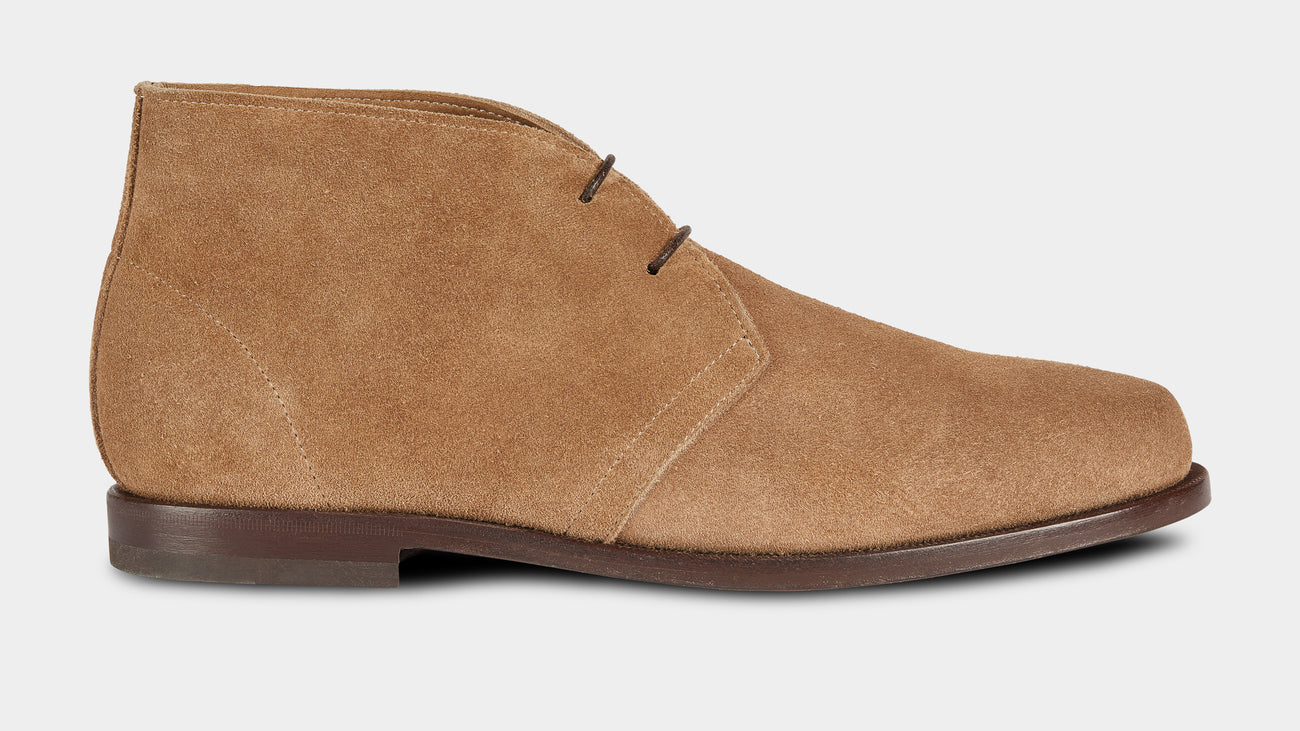 Velasca Ciapparatt Beige Suede leather