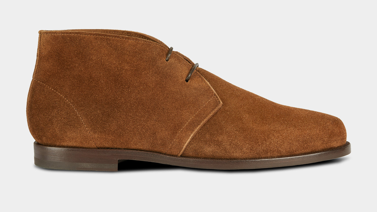 Velasca Ciapparatt Tobacco brown Suede leather