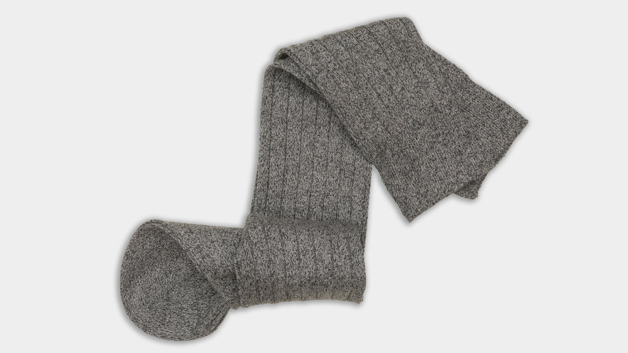 Velasca Còregh Grey melange Cotton