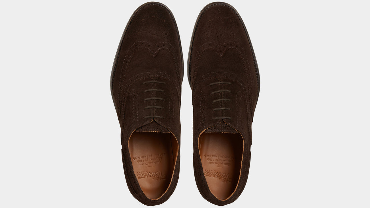 Velasca Feracaval Dark brown Suede leather