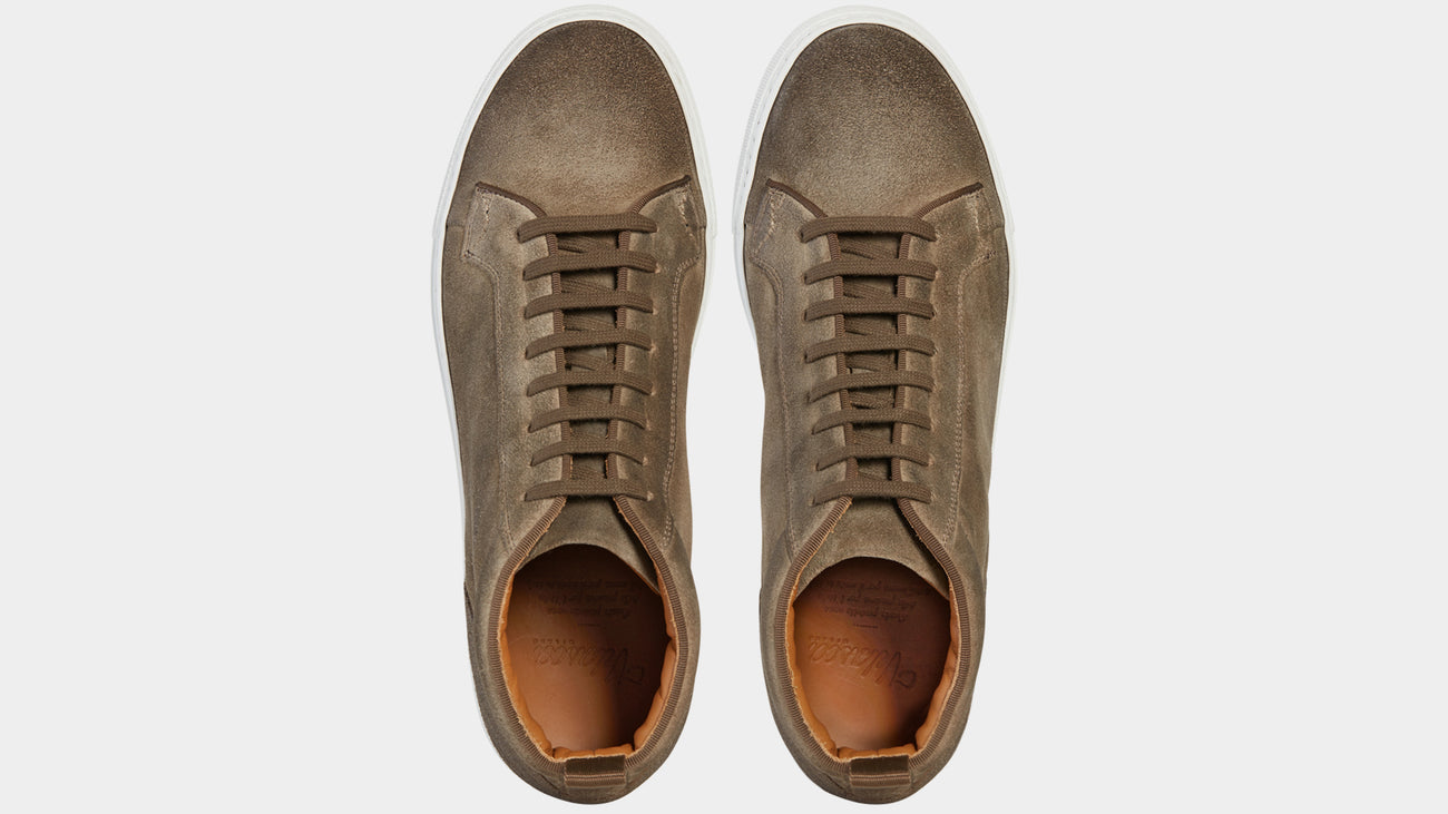 Velasca Ghisa Gray Suede leather