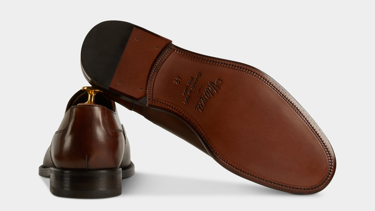 Velasca Giacalustra Brown Crust leather