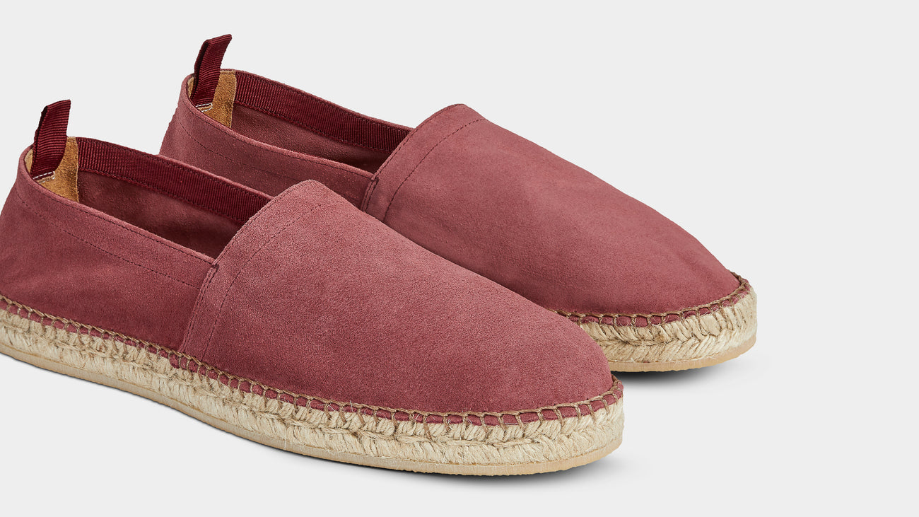 Velasca Inguriatt Red Suede leather