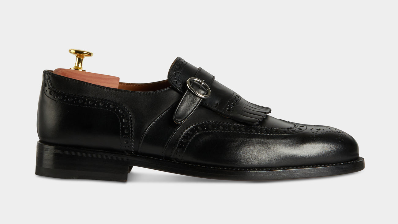 Velasca Magnan Black Full grain leather