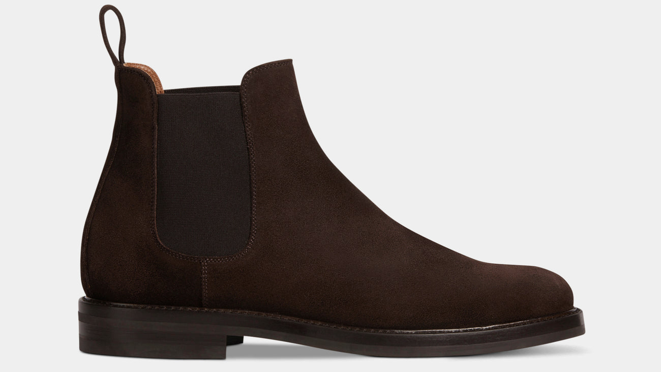 Velasca Magut Dark brown Suede leather