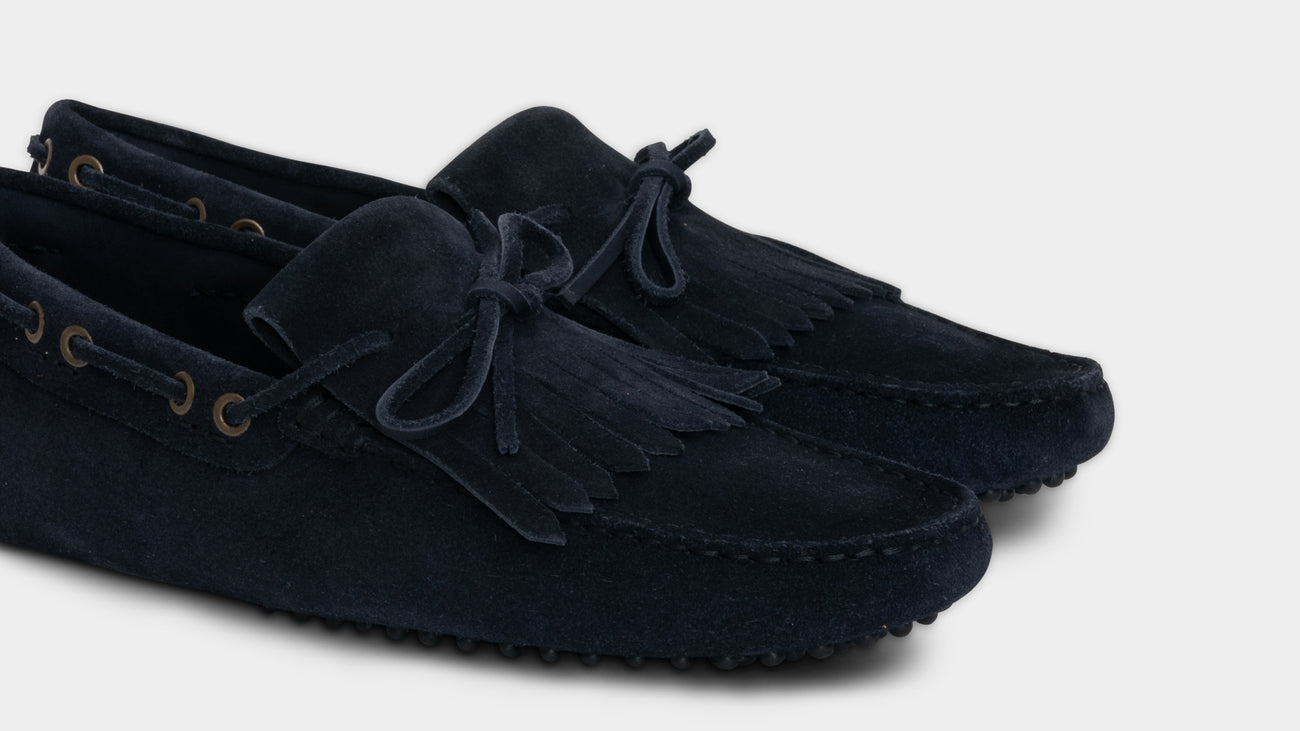 Velasca Ranatt Blue Suede leather