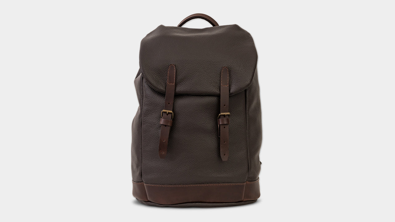 Velasca Bags Sach Dark brown Tumbled leather