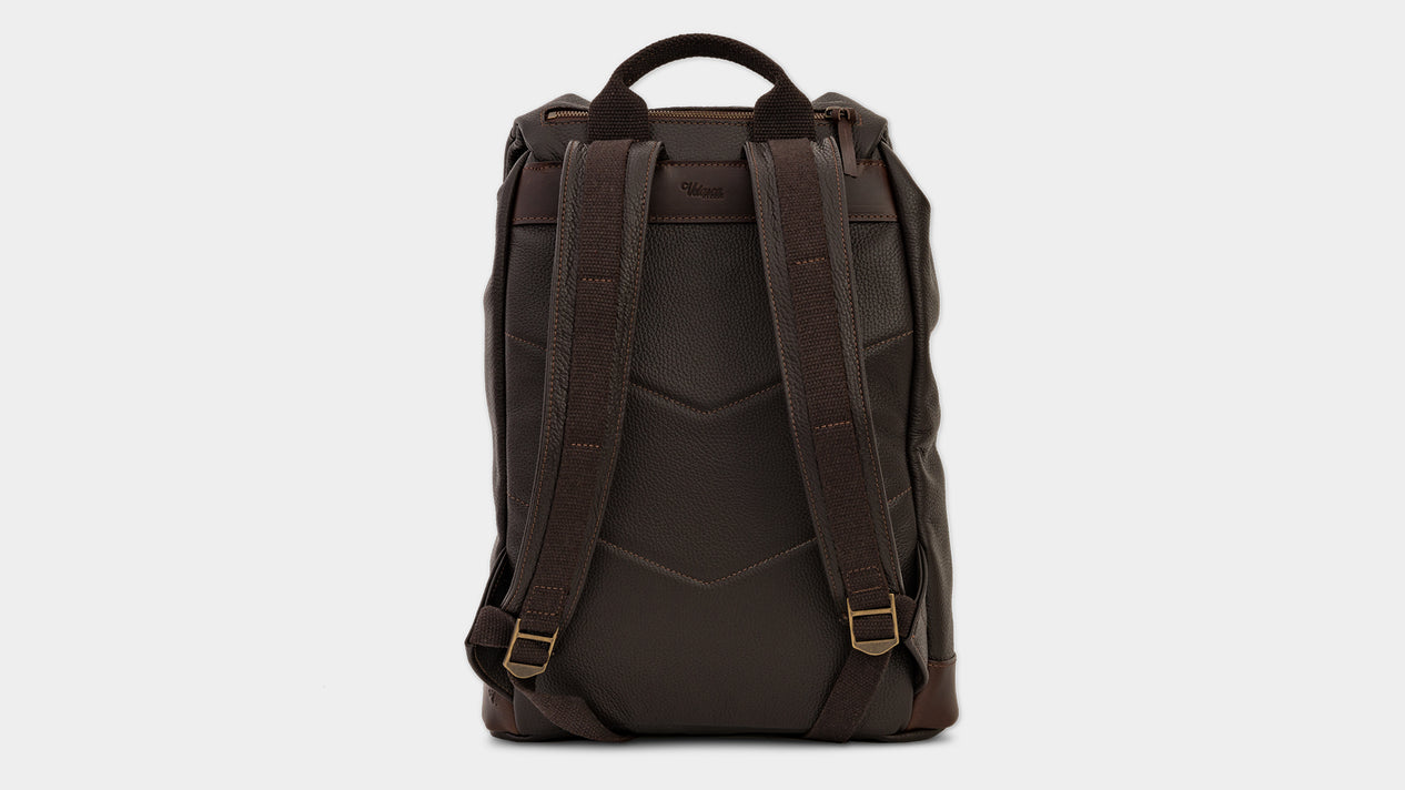 Velasca Sach Dark brown Tumbled leather