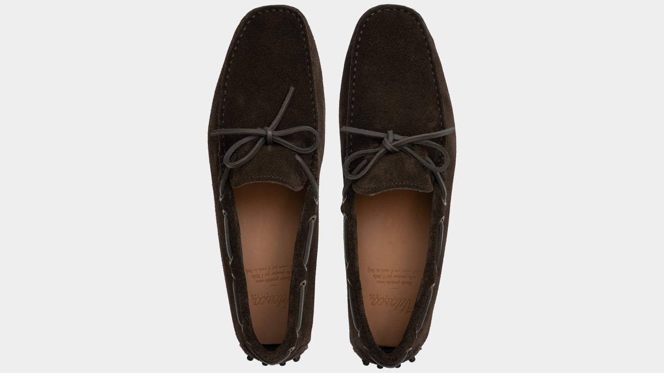 Velasca Spesiè Dark brown Suede leather