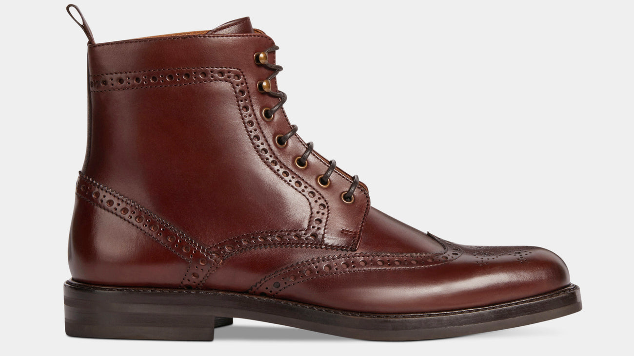 Velasca Tirapè Brown Full grain leather