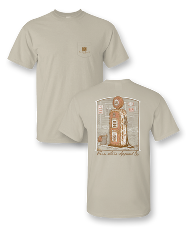 """Live Oak"" Comfort Colors Short Sleeve Pocket Tee"