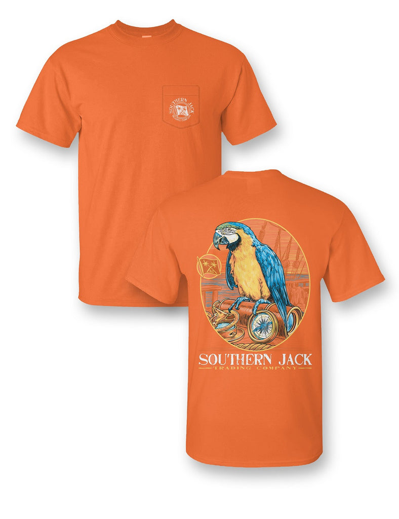 Parrot Comfort Color Short Sleeve Pocket Tee