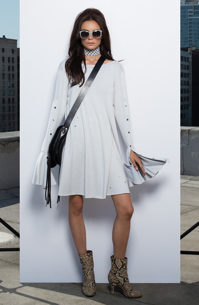 THE T-SHIRT BELL SLEEVE DRESS