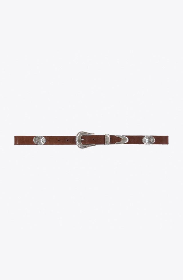 THE LEATHER WESTERN BELT