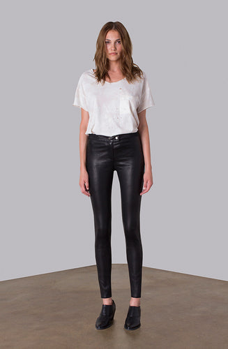THE RIDING LEATHER PULL ON LEGGING
