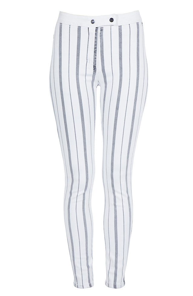 THE STRIPED RIDING SKINNY