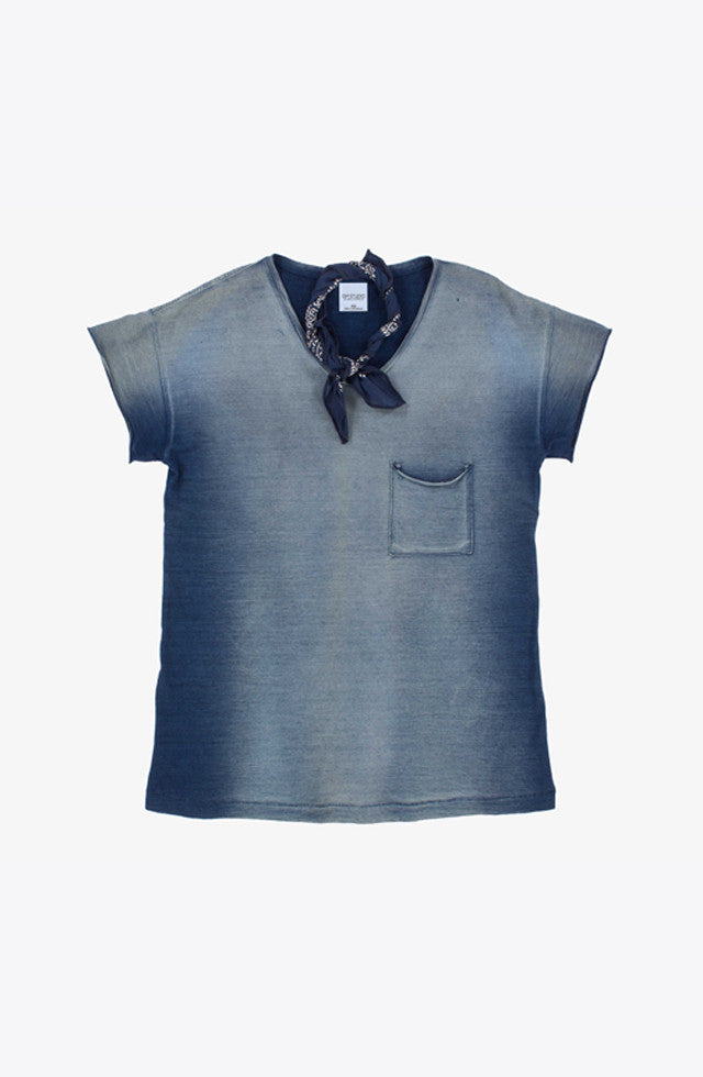 THE INDIGO DENIM T