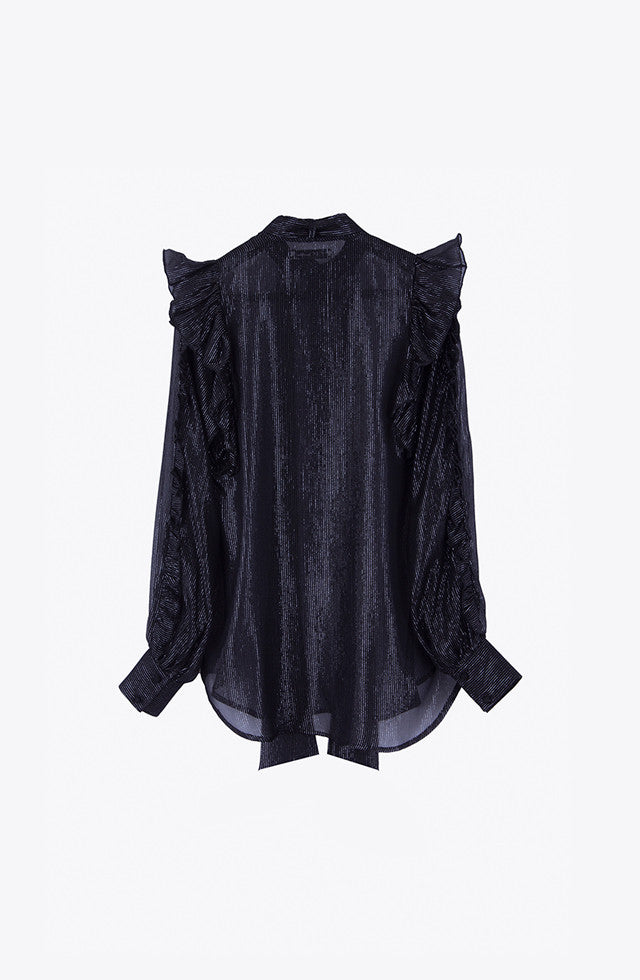 THE STAR LUREX BLOUSE