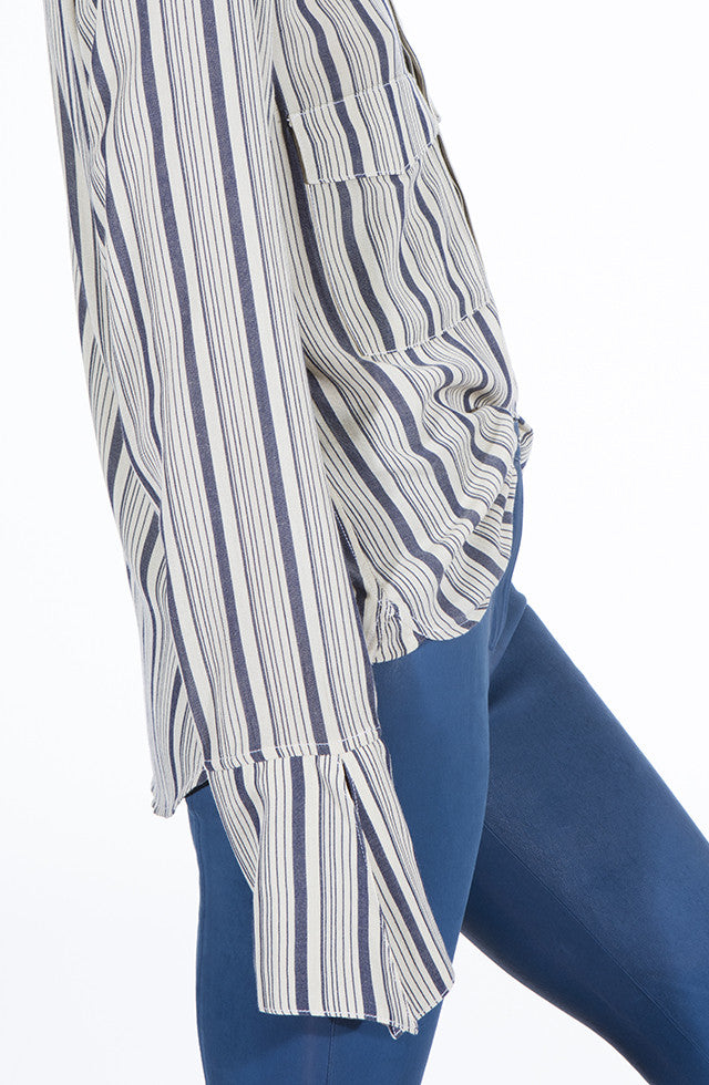 THE UTILITY STRIPED SHIRT