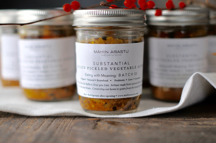 SUBSTANTIAL Mixed Pickled Vegetable Achar