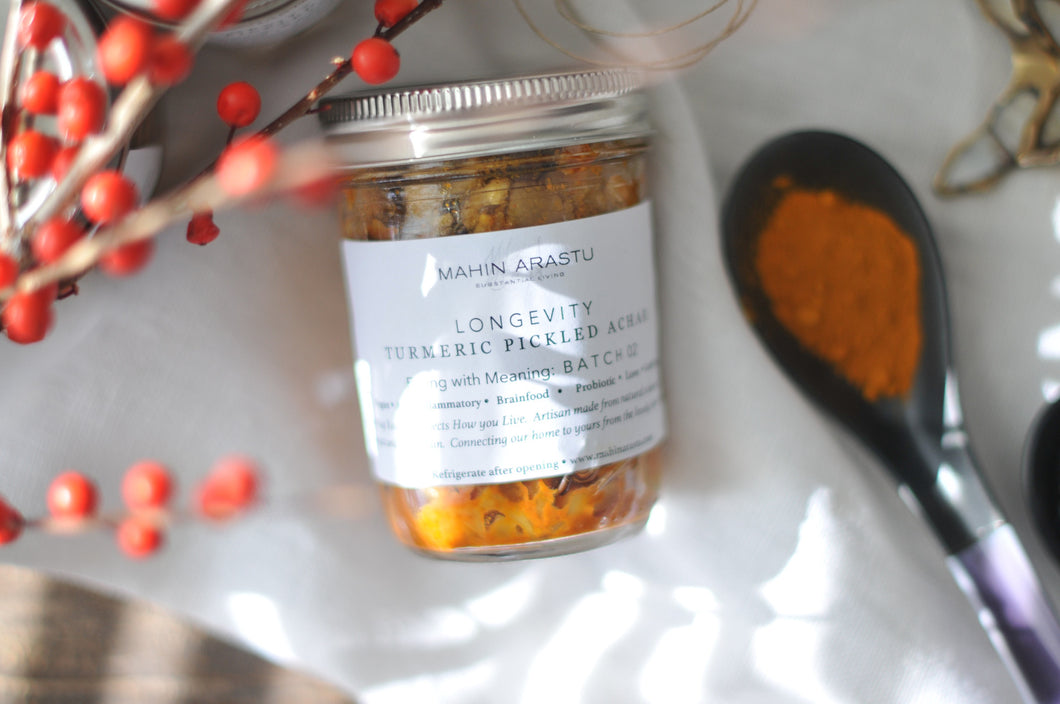 LONGEVITY Turmeric Pickled Vegetable Achar