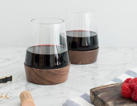 Stemless Substantial Wine Glass