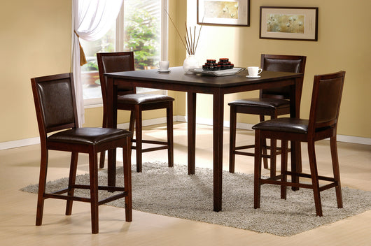 3442 Espresso Table Set
