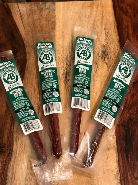 Hickory Smoked Authentic Beef Snack Stick