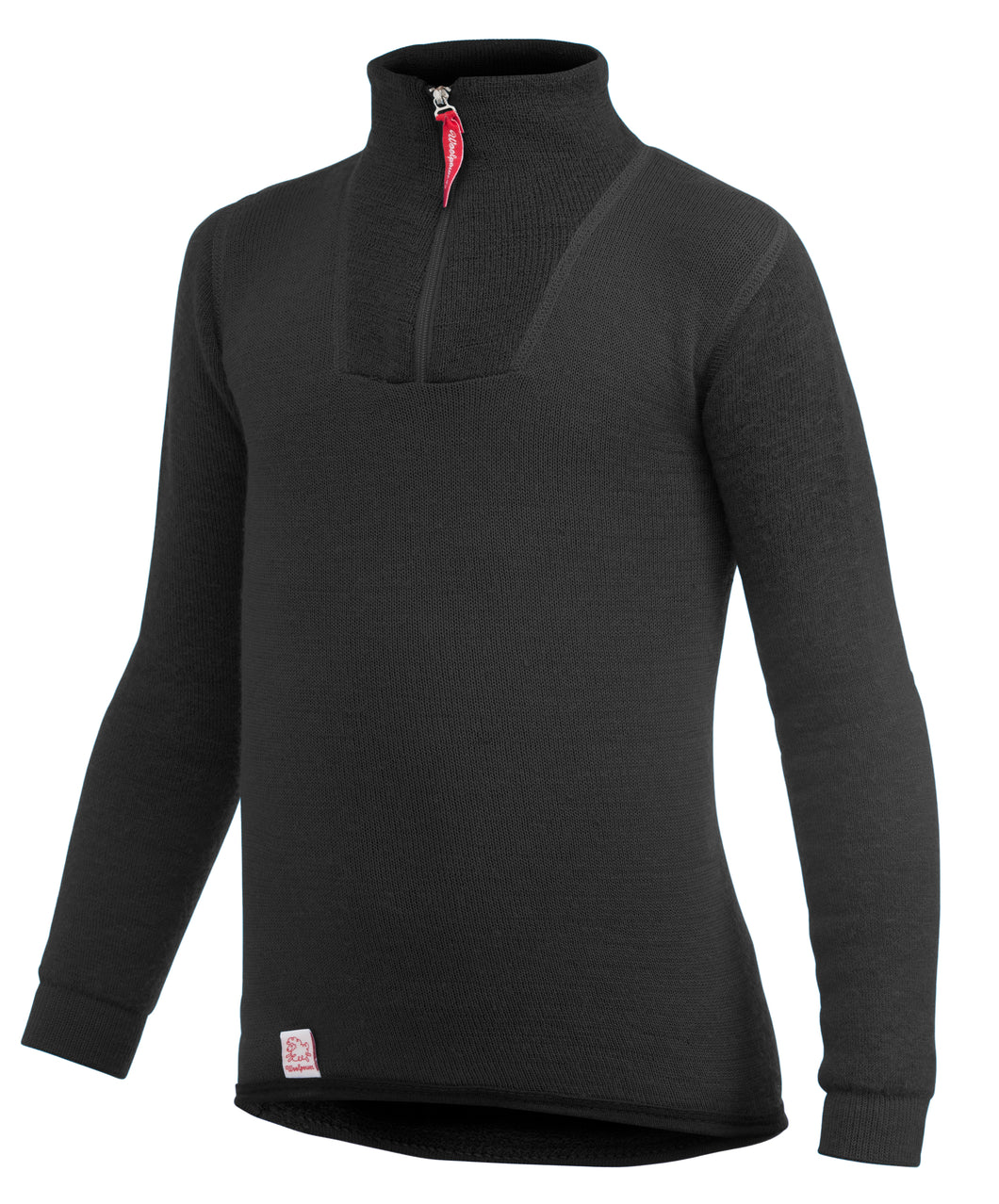 Woolpower 200g Children's Merino Wool Zip Turtleneck