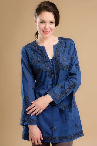 Nadira Embroidered Tunic