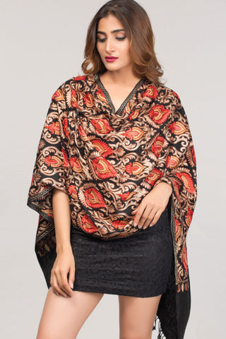 Mandira Embroidered Shawl