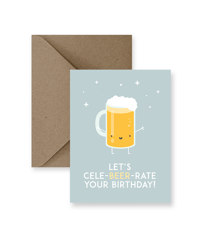 Let's Cele-beer-rate Your Birthday!
