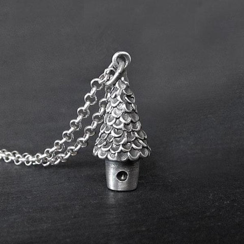 Tree House Necklace