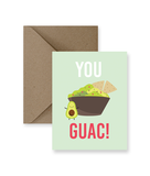 You Guac Greeting Card - Osadia Concept Store