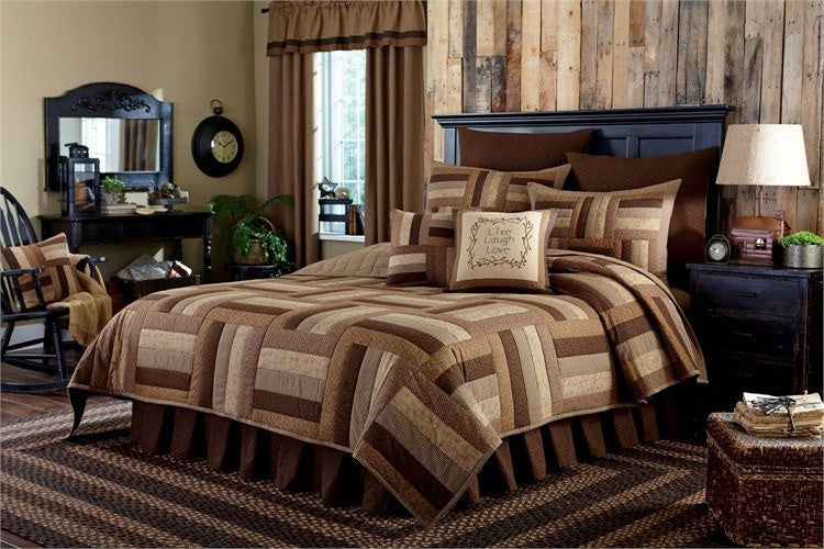 Shades Of Brown Bed Skirt by Park Designs   upgrading quality.myshopify.com