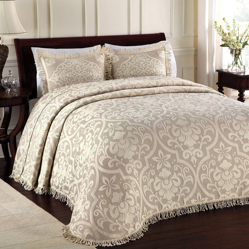 Lamont Home All Over Brocade Bedspread