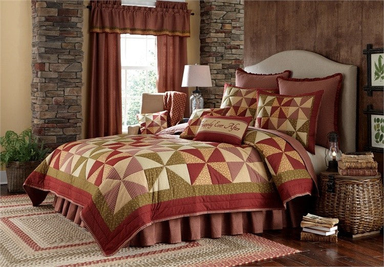 Mill Village Quilt Set by Park Designs