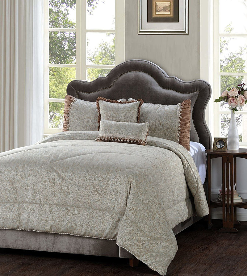 Jennifer Taylor 5 Piece Comforter Set in Teal Tean   upgrading quality.myshopify.com