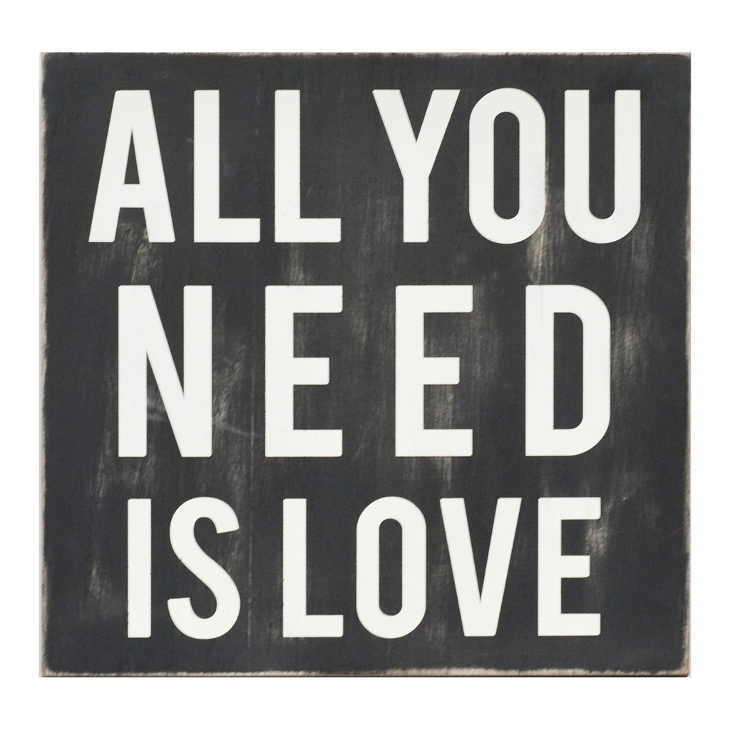 All You Need Is Love Wall Art by Stratton Home Decor