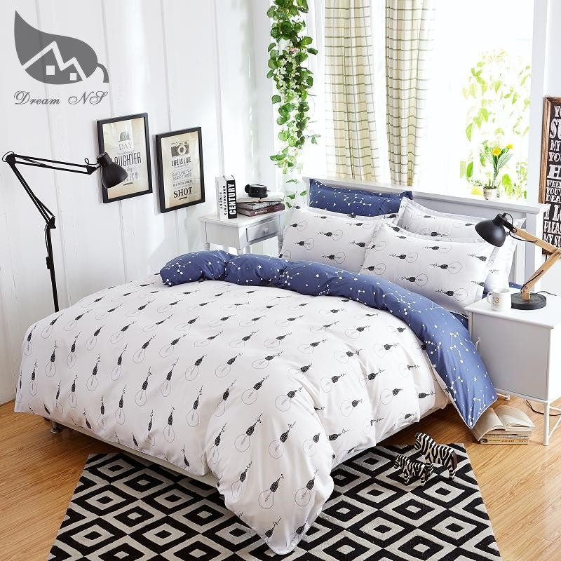 Light Bulb Pattern Duvet Cover Bedding Set   Upgrading Quality
