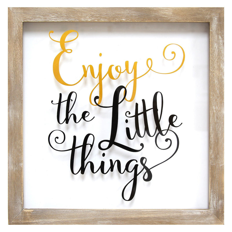 Enjoy the Little Things Wall Art by Stratton Home Decor