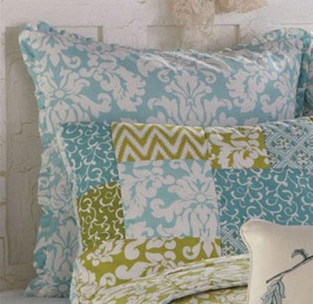 Tranquil Basic Blue Euro Sham by Park Designs
