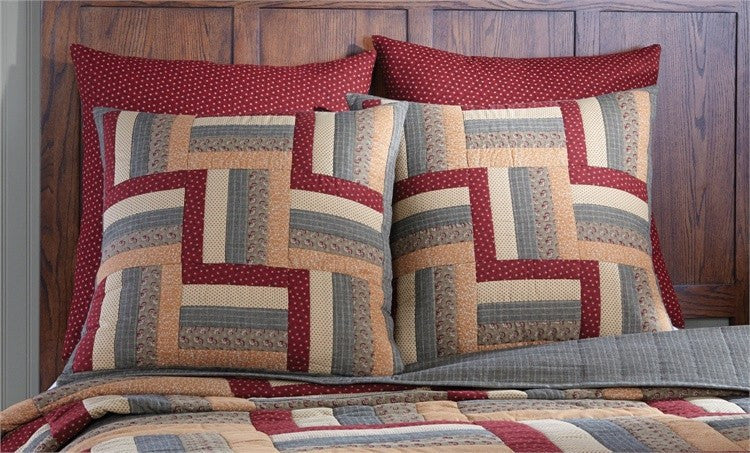 Hearth   Home Patchwork Euro Sham by Park Designs   upgrading quality.myshopify.com
