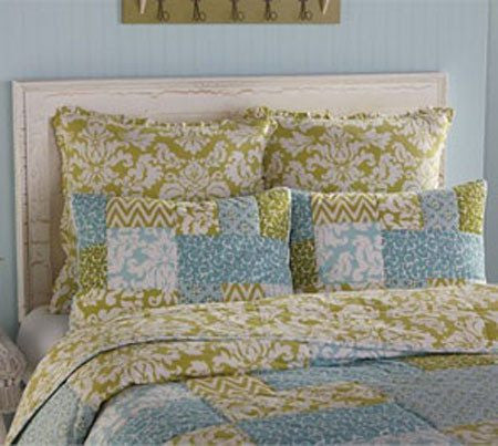 Tranquil Basic Green Euro Sham by Park Designs