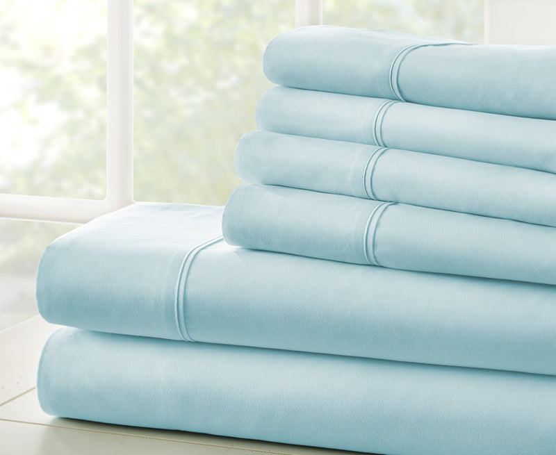 Home Collection 6 Piece Bed Sheet Set