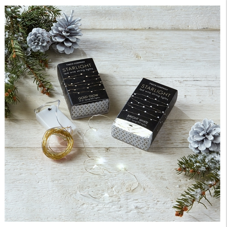 STARLIGHT LED WIRE STRING LIGHTS IN GIFT BOX