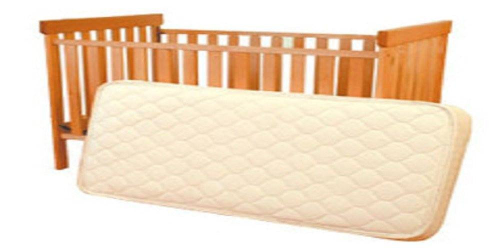 "6"" Crib Wool Outer Rubber Mattress"