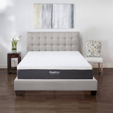 "12"" Ventilated Memory Foam Mattress"