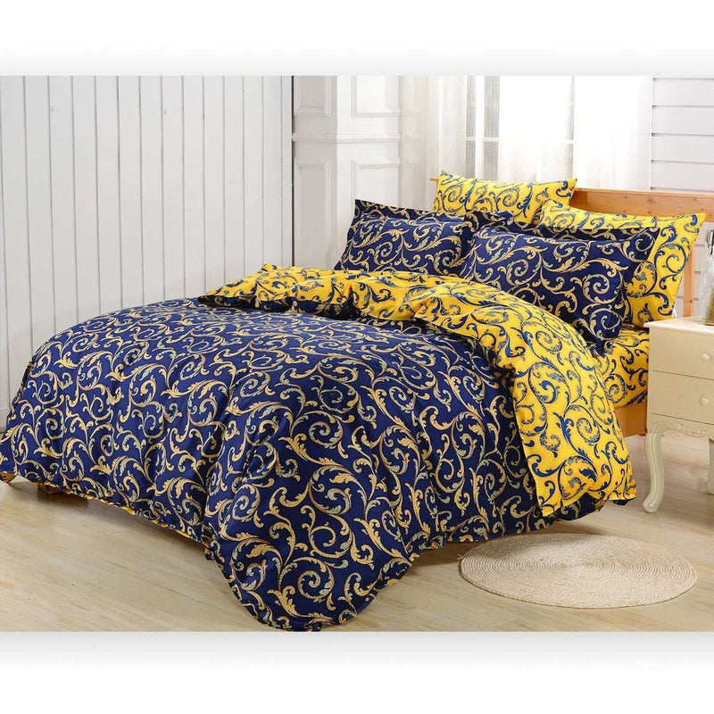 Dolce Mela Paros Queen Size Duvet Cover Set